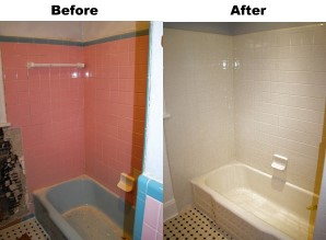 Bathroom Refinishing Reglazing Resurfacing Bath Tub Tile Repair - Bathroom tile reglazing